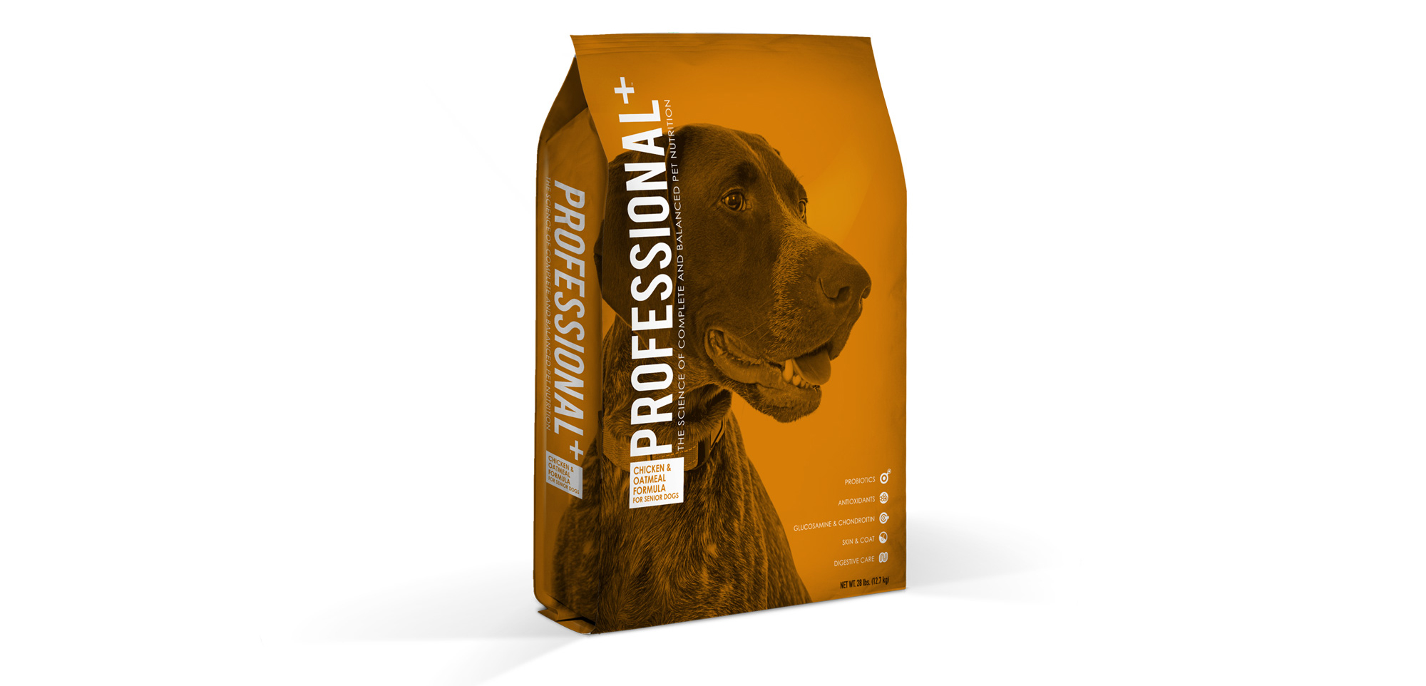 Professional+ Chicken and Oatmeal Formula for Senior Dogs
