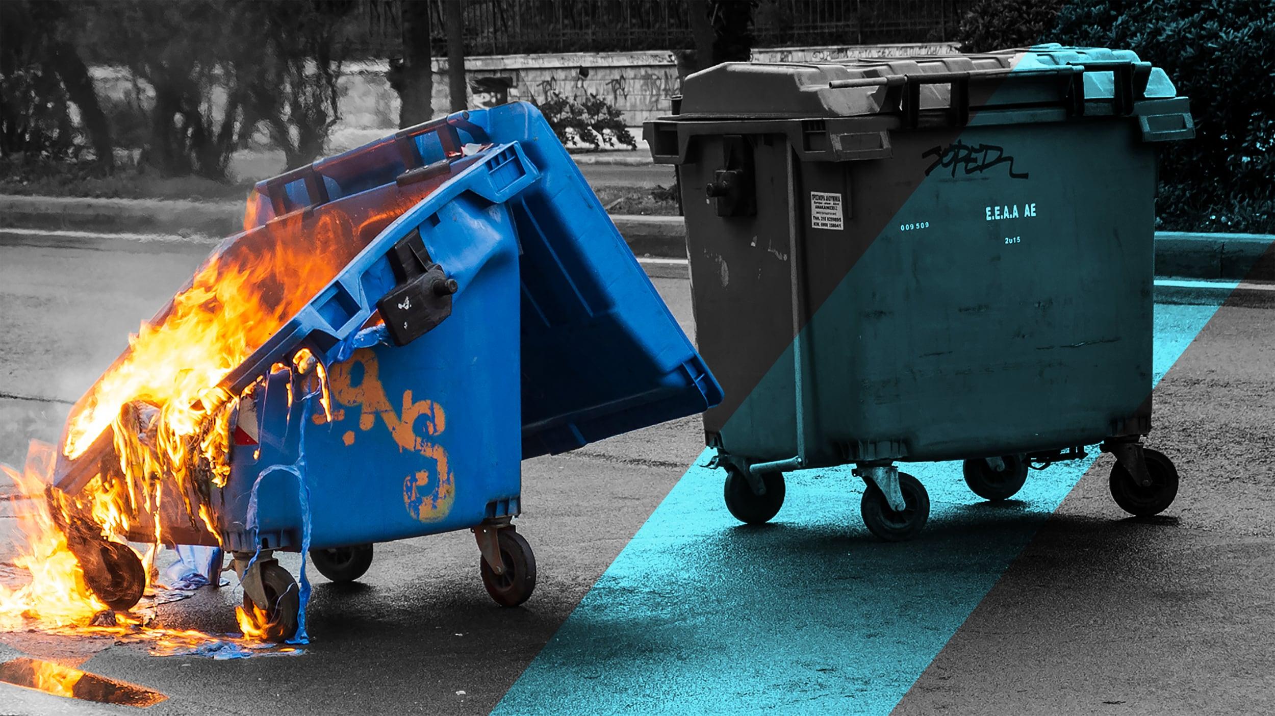 Dumpsters on Fire | Woodruff